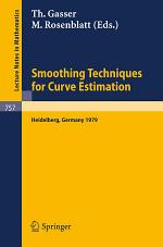 Smoothing Techniques for Curve Estimation