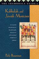 The Shambhala Guide to Kabbalah and Jewish Mysticism PDF