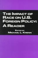 The Impact of Race on U S  Foreign Policy PDF