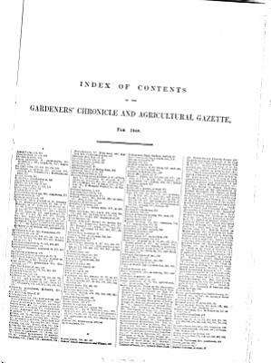 The Gardeners  Chronicle and Agricultural Gazette PDF