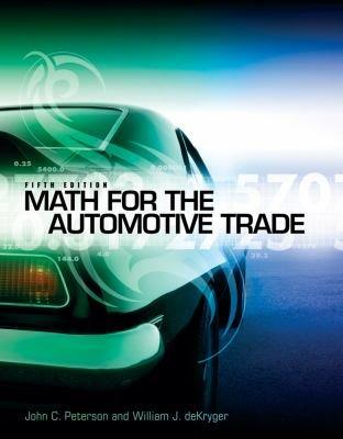 Math for the Automotive Trade PDF