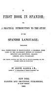A First Book in Spanish PDF