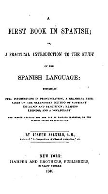 A First Book in Spanish PDF