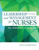 Leadership and Management for Nurses PDF