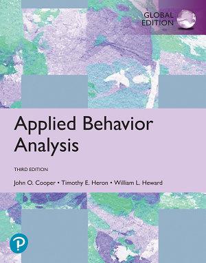 Applied Behavior Analysis  Third Edition
