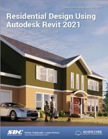 Residential Design Using Autodesk Revit 2021 PDF