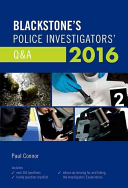 Blackstone s Police Investigators  Q A 2016 PDF