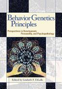 Behavior Genetics Principles PDF