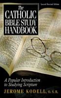 The Catholic Bible Study Handbook PDF