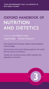 Oxford Handbook of Nutrition and Dietetics 3e