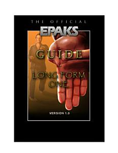The Official EPAKS Guide to Long Form One Book