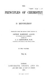 The Principles of Chemistry: Volume 2