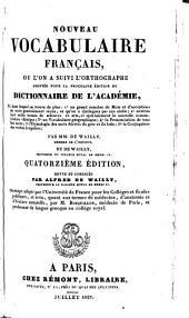 Nouveau vocabulaire français