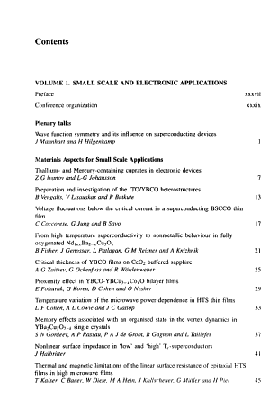 Applied Superconductivity 1997  Proceedings of EUCAS 1997  the Third European Conference on Applied Superconductivity  held in the Netherlands  30 June to 3 July 1997 PDF
