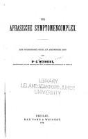 Der aphasische Symptomencomplex PDF
