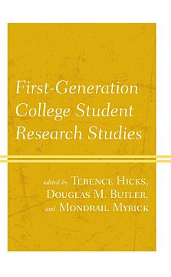 First Generation College Student Research Studies PDF