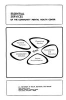 Essential Services of the Community Mental Health Center PDF