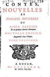 Contes, nouvelles et poësies du Sieur Vergier et de quelques auteurs anonymes: Volume2