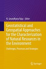 Geostatistical and Geospatial Approaches for the Characterization of Natural Resources in the Environment
