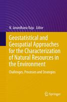Geostatistical and Geospatial Approaches for the Characterization of Natural Resources in the Environment PDF