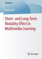 Short  and Long Term Modality Effect in Multimedia Learning PDF