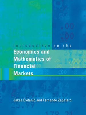 Introduction to the Economics and Mathematics of Financial Markets PDF