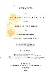 Sermons, from The Fowls of the Air and The Lilies of the Field: Or, Lessons of Faith Beside the Common Path of Life