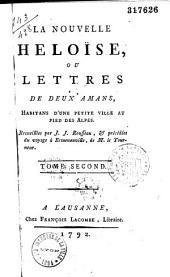 La nouvelle Héloïse, par J. J. Rousseau