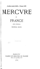 Mercure de France: Volume56