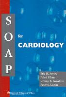 SOAP for Cardiology PDF