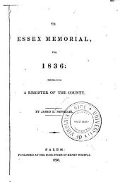 The Essex memorial, for 1836: embracing a register of the county
