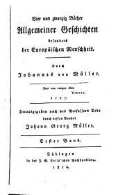 Johannes von Müller sämmtliche Werke: Band 1