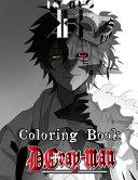 D Gray Man Coloring Book