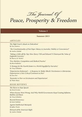 Journal of Peace  Prosperity and Freedom