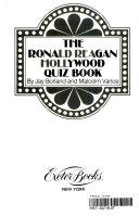The Ronald Reagan Hollywood Quiz Book PDF