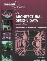 Time saver Standards for Architectural Design Data PDF