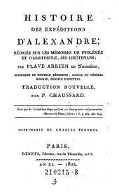 Histoire des Expeditions D'Alexandre