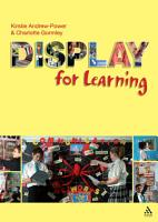 Display for Learning PDF