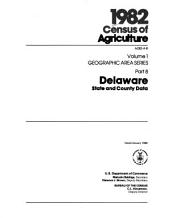 1982 Census of Agriculture: geographic area series. 54 pts