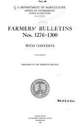 Farmers' Bulletin: Issues 1276-1300