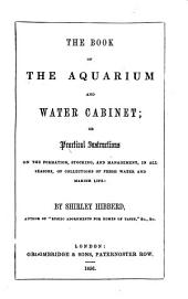 Book of the Aquarium and Water Cabinet