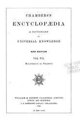 Chambers  Encyclop  dia PDF