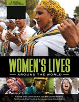 Women s Lives around the World  A Global Encyclopedia  4 volumes  PDF