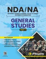 General Studies  Part   1  for NDA NA Entrance Exam PDF