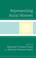 Representing Rural Women PDF