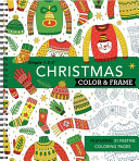 Color   Frame Coloring Book   Christmas PDF