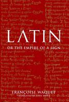 Latin  Or  The Empire of a Sign PDF
