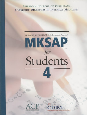 MKSAP for Students 4 PDF