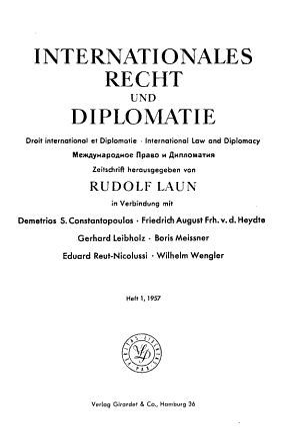 Droit international et diplomatie PDF