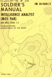 Intelligence analyst: Part 101